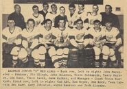 Dauphin Red Wings 1967 Manitoba - Saskatchewan Junior B Champions