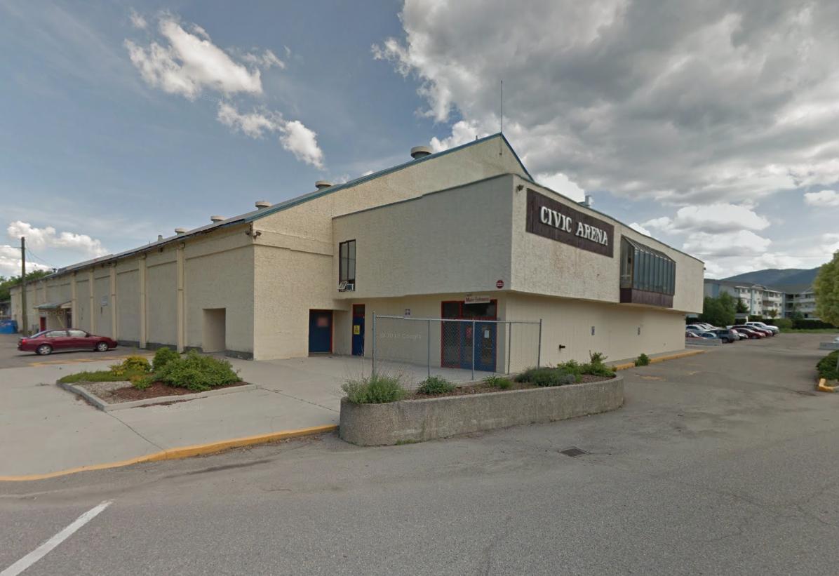 Vernon Civic Arena