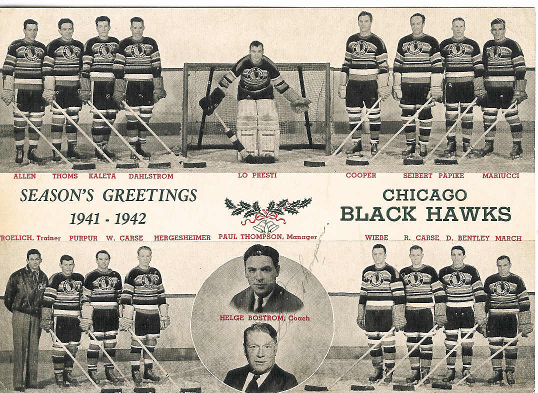 1941–42 Chicago Black Hawks season