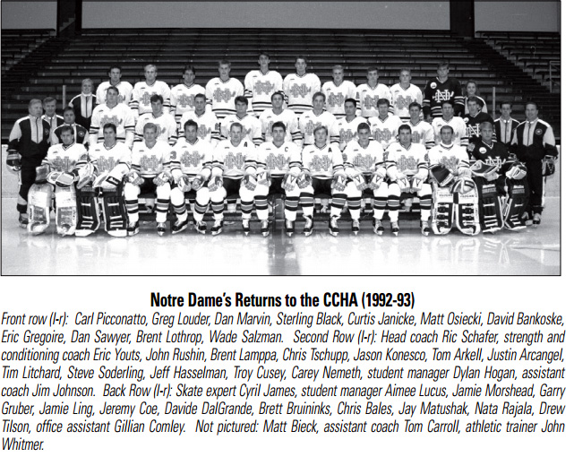 1992-93 CCHA season
