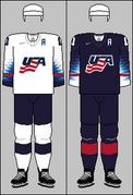 United States national ice hockey team jerseys 2018 IHWC