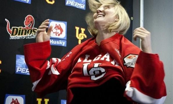 Calgary Dinos women's ice hockey