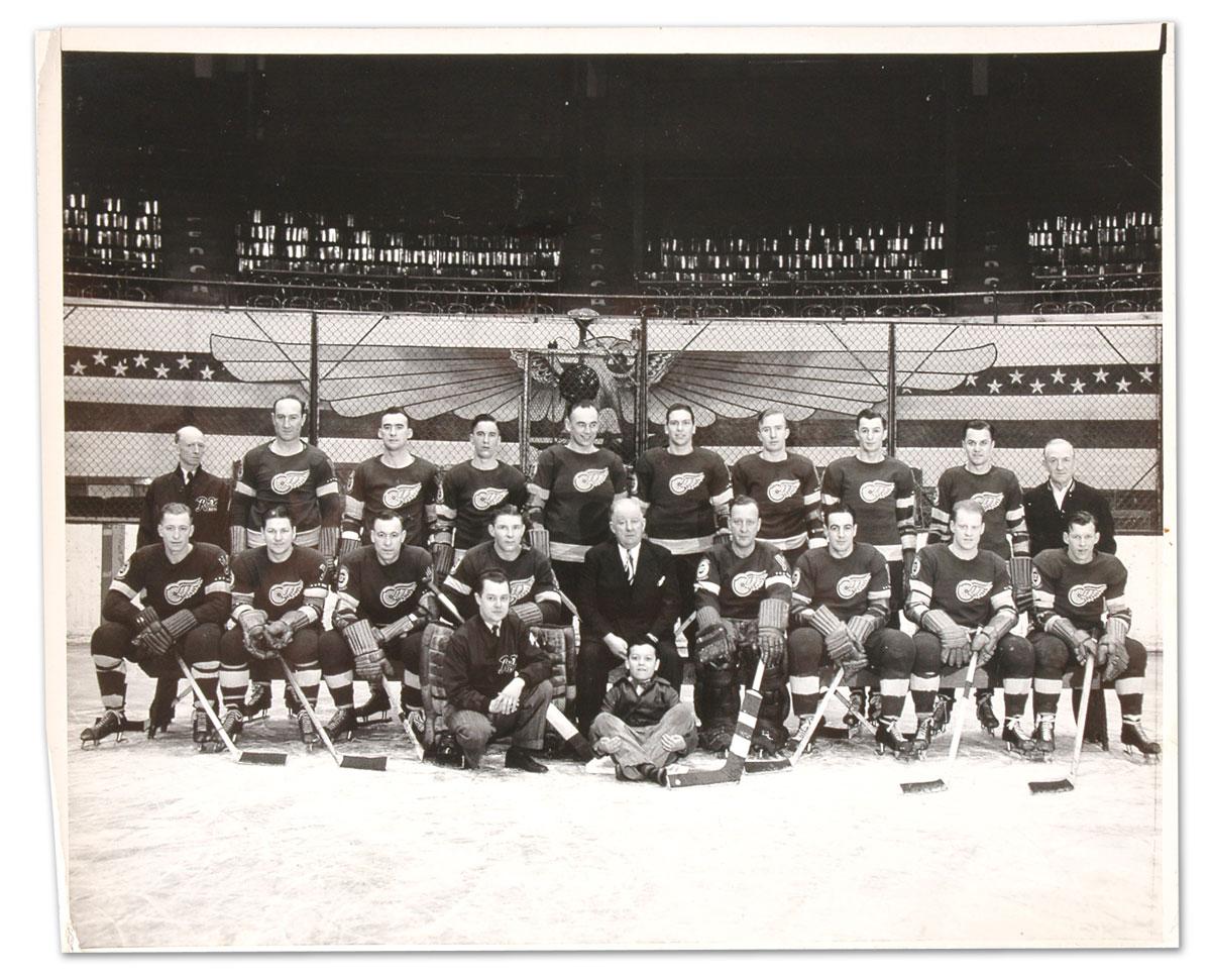 1944–45 Detroit Red Wings season
