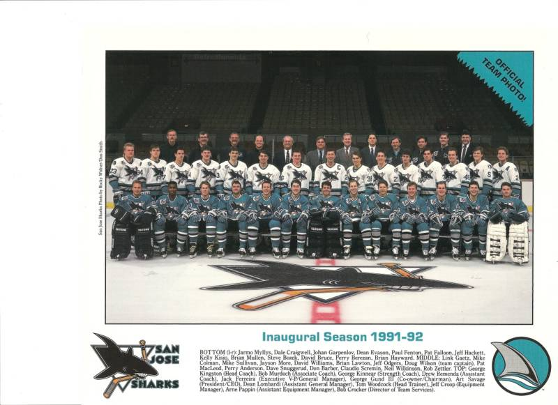 1991–92 San Jose Sharks season