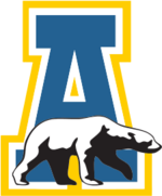 Alaska Nanooks men's ice hockey athletic logo