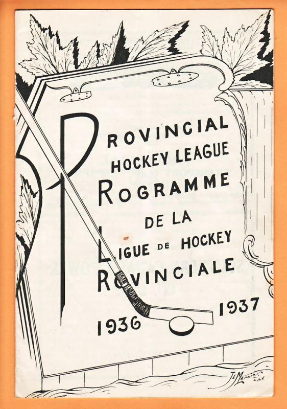 1936-37 PIHL