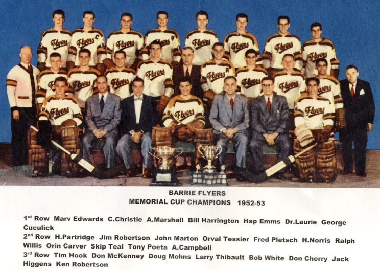 1952-53 Eastern Canada Memorial Cup Playoffs
