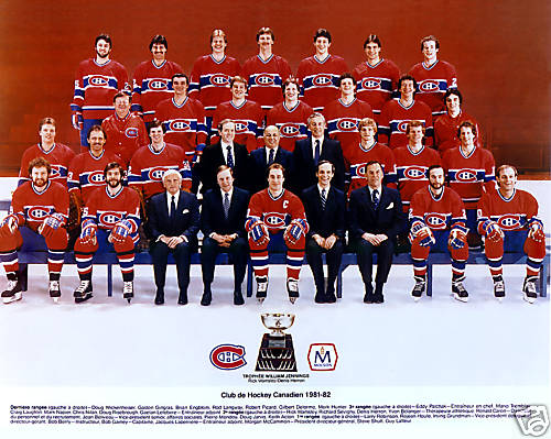 1981–82 Montreal Canadiens season