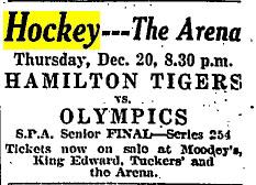 1923 SPA Senior Tournament