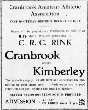 Kimberley-Cranbrook League