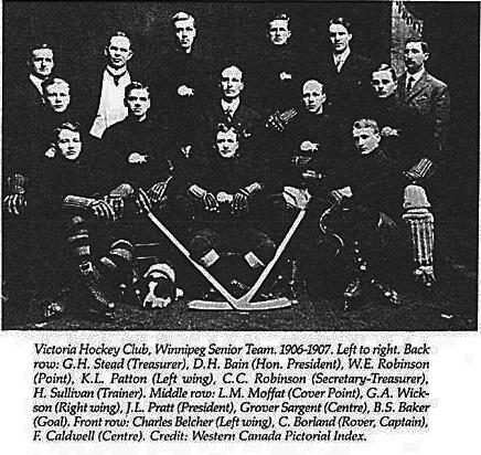 1906-07 Manitoba Senior Playoffs