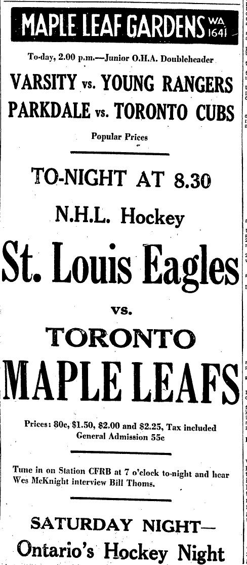 1934–35 Toronto Maple Leafs season