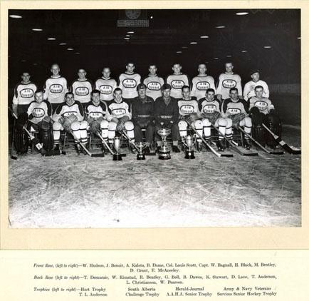 1944-45 Alberta Senior Playoffs