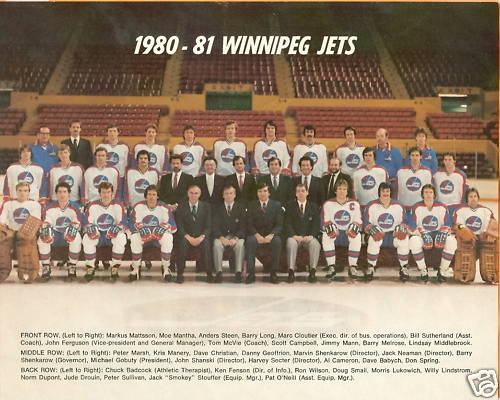 1980–81 Winnipeg Jets season