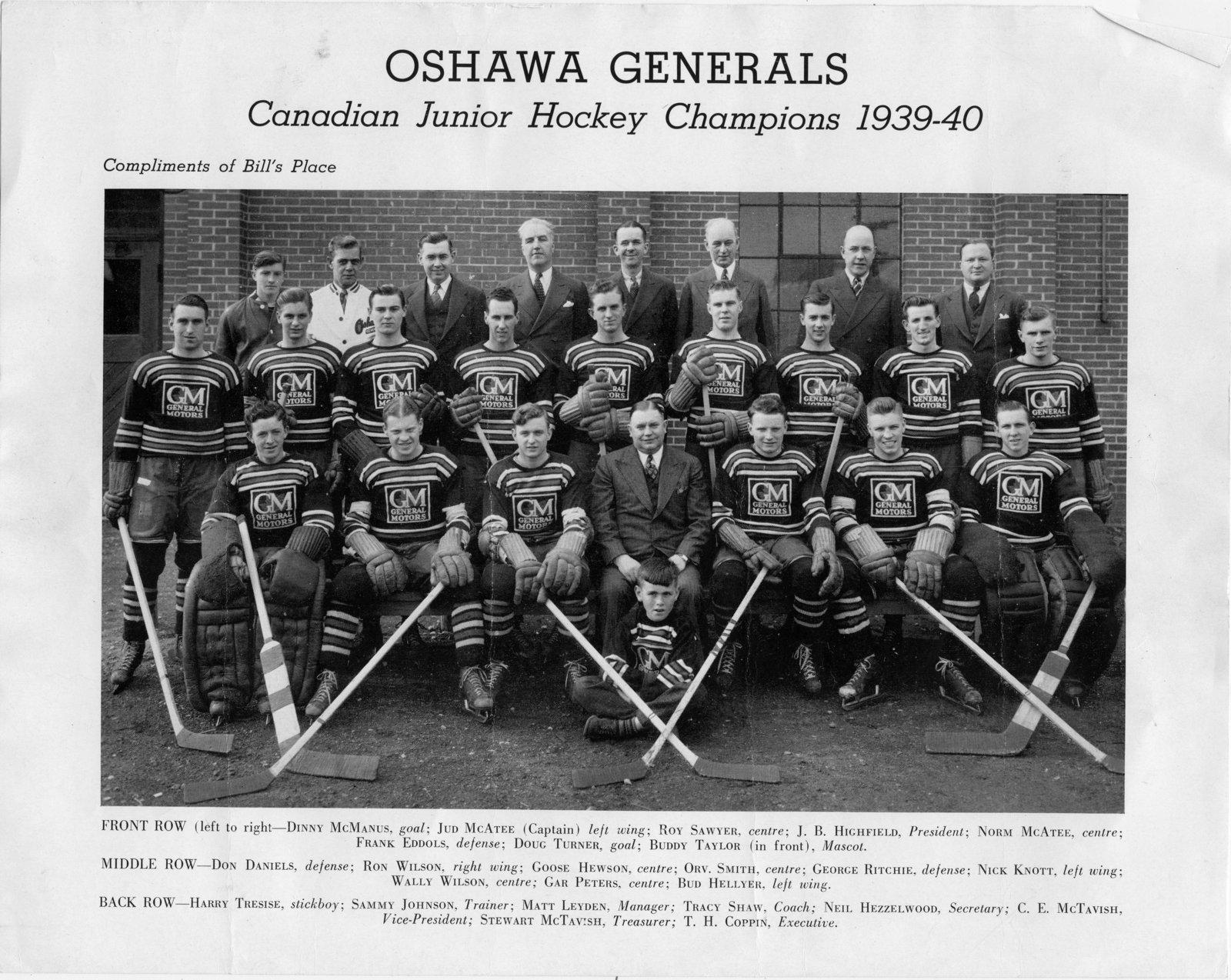 1939-40 Memorial Cup Final