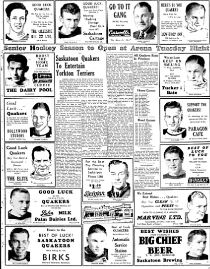 1941-42 Saskatchewan Senior Playoffs