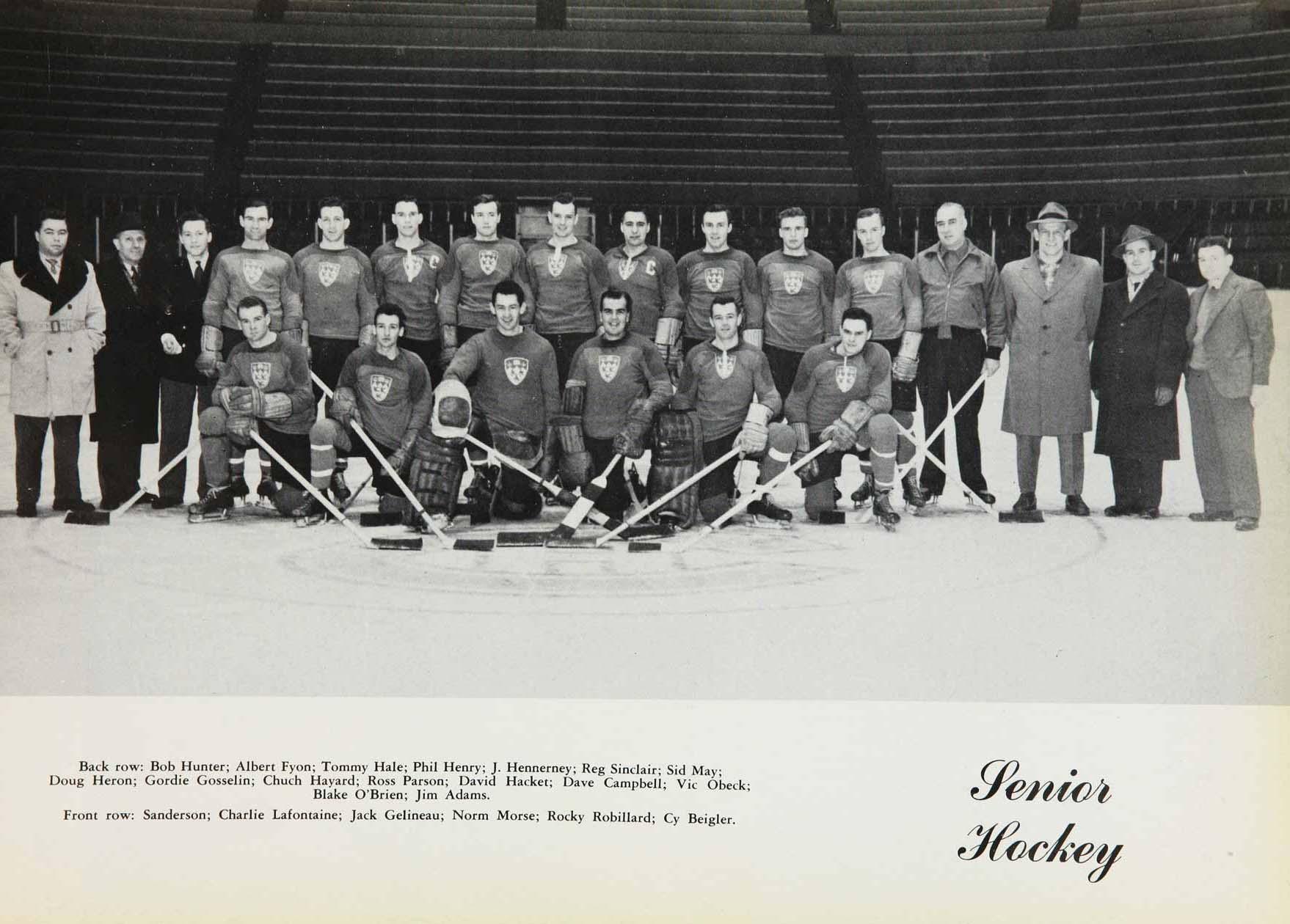 1948-49 CIAU Season