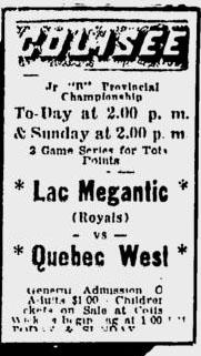 1965-66 Quebec Junior B Playoffs