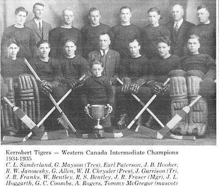 1934-35 Saskatchewan Intermediate Playoffs