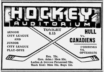1943-44 Ottawa City Junior League