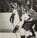 Peter Scamurra Ice Hockey Player for the Washington Capitals 1977