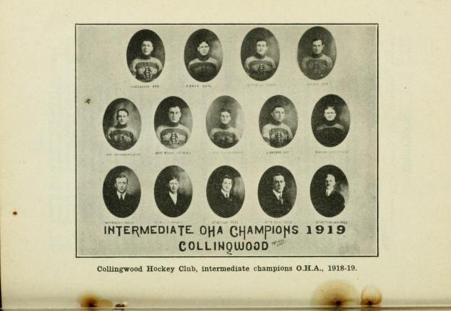 1918-19 OHA Intermediate Groups