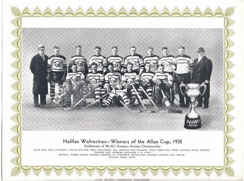 1934-35 Maritimes Senior Playoffs