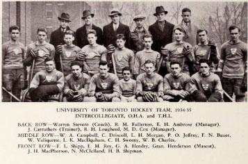 1934-35 OHA Senior Season