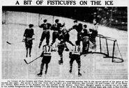 1937-Jan3-Bruins-NYR fight