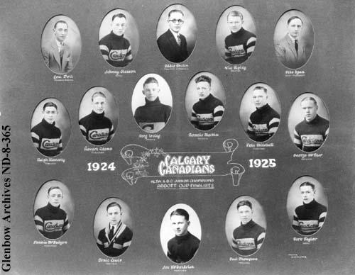 1924-25 Alberta Junior Playoffs