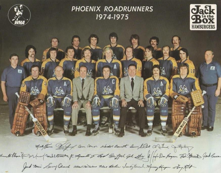 1974–75 Phoenix Roadrunners season