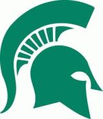 Michigan State Spartans athletic logo