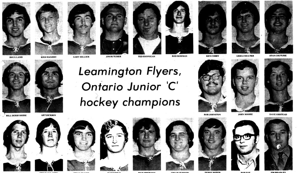 1972 Clarence Schmalz Cup