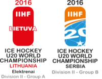 2016 World Junior Ice Hockey Championships – Division II