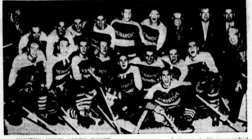 1954-55 Western Canada Memorial Cup Playoffs