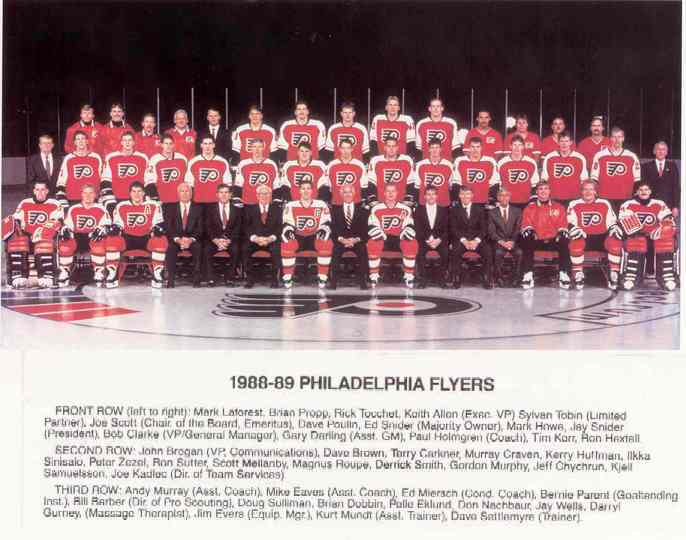 1988–89 Philadelphia Flyers season