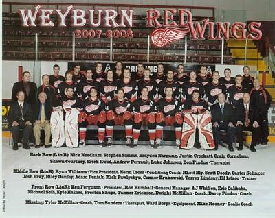 2007-08 SJHL Season