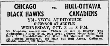 1962–63 Chicago Black Hawks season