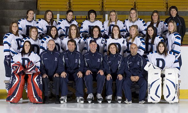 Dawson Blues women's ice hockey