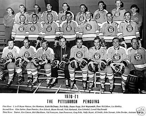 1970–71 Pittsburgh Penguins season