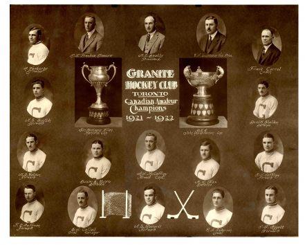 1921-22 OHA Senior Season