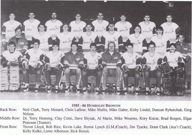 1985-86 SJHL Season