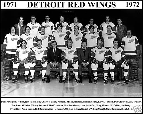 1971–72 Detroit Red Wings season