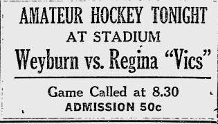 1922-23 Saskatchewan Senior Playoffs