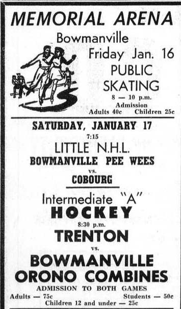 1958-59 OHA Intermediate A Groups