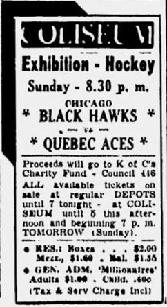 1953–54 Chicago Black Hawks season