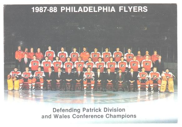 1987–88 Philadelphia Flyers season