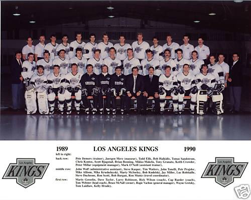 1989–90 Los Angeles Kings season