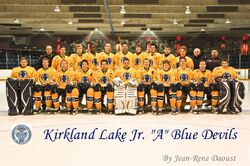 2011-12 Kirkland Lake Blue Devils