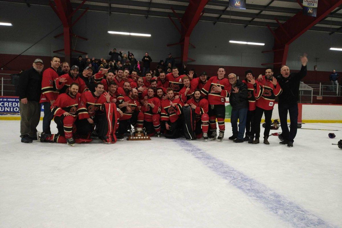 2017-18 East Coast Senior Hockey League Season